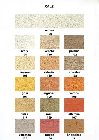 kleurkaartenkleurkaart-kalei-1-echt