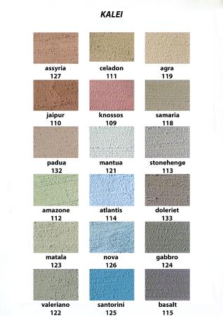 kleurkaartenkleurkaart-kalei-2-echt